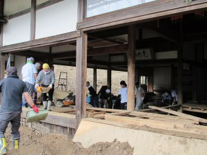 H26_兵庫県豪雨災害復旧作業